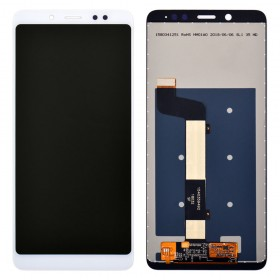 Дисплей для Xiaomi Redmi Note 5/Note 5 Pro с тачскрином в сборе,  цвет white, без рамки, copy
