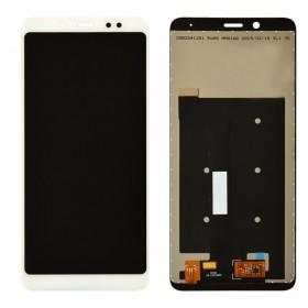 Дисплей для Xiaomi Redmi Note 5, Note 5 Pro с тачскрином в сборе,  цвет белый, копия высокого качества, без рамки