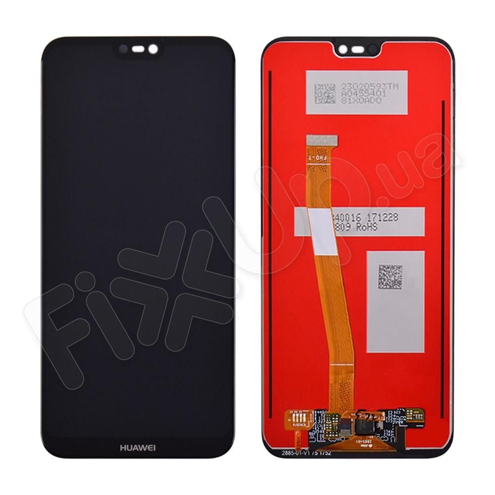 Дисплей для Huawei P20 Lite/Nova 3e с тачскрином в сборе, цвет черный фото 1