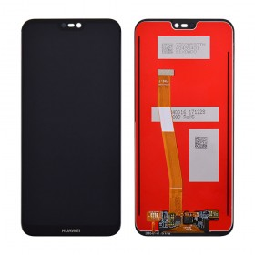 Дисплей для Huawei P20 Lite/Nova 3e (ANE-L21/ANE-LX1) с тачскрином в сборе,  цвет черный, копия, без рамки