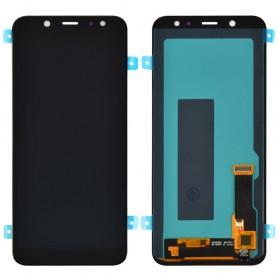 Дисплей для Samsung A600F /DS Galaxy A6 (2018) с тачскрином в сборе,  цвет черный, без рамки, oled
