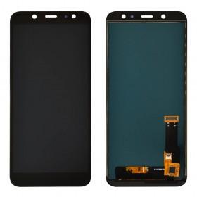 Дисплей для Samsung A600F /DS Galaxy A6 (2018) с тачскрином в сборе, tft с регулировкой яркости, без рамки,  цвет черный