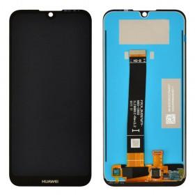 Дисплей для Huawei Y5 2019, Honor 8S (2019) (AMN-LX1/LX2/LX3/LX9/ KSE-LX9/KSA-LX9) с тачскрином в сборе, без рамки, копия,  цвет черный