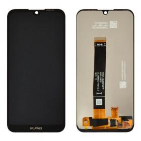 Дисплей для Huawei Y5 2019, Honor 8S (2019) (AMN-LX1/LX2/LX3/LX9/ KSE-LX9/KSA-LX9) с тачскрином в сборе, без рамки, копия высокого качества,  цвет черный