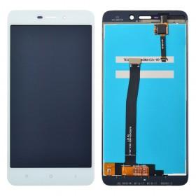 Дисплей Xiaomi Redmi 4A с тачскрином в сборе, без рамки,  цвет белый, копия