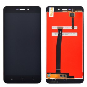 Дисплей Xiaomi Redmi 4A с тачскрином в сборе, копия, без рамки,  цвет черный