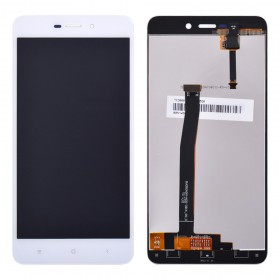 Дисплей Xiaomi Redmi 4A с тачскрином в сборе, без рамки, high copy,  цвет white