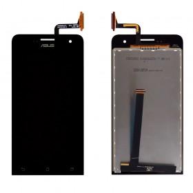 Дисплей Asus ZenFone 5 (A500CG, A500KL, A501CG)  с тачскрином в сборе, без рамки,  цвет черный