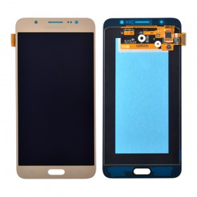 Дисплей Samsung Galaxy J7 J710F, J710H, J710M (2016) с тачскрином в сборе, service original, без рамки,  цвет gold