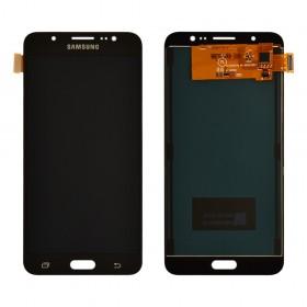 Дисплей Samsung Galaxy J7 J710F, J710H, J710M (2016) с тачскрином в сборе, prc tft с регулировкой, без рамки,  цвет black