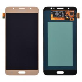 Дисплей Samsung Galaxy J7 J710F, J710H, J710M (2016) с тачскрином в сборе, без рамки,  цвет gold, prc oled