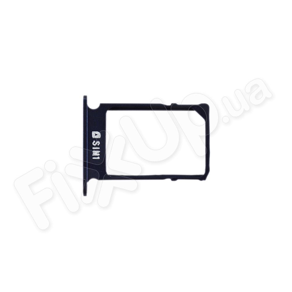 Лоток для сим карты Samsung A300/A500/A700, цвет черный, маленький фото 1