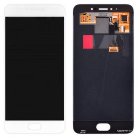 Дисплей Meizu Pro 6 (M570), Pro 6s с тачскрином в сборе, оригинал,  цвет белый, без рамки