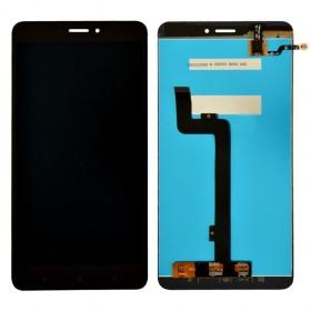 Дисплей Xiaomi Mi Max 2 с тачскрином в сборе,  цвет черный, копия высокого качества, без рамки