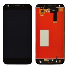 Дисплей для ZTE A6/A6 Lite с тачскрином в сборе,  цвет черный, без рамки