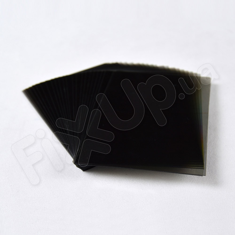 Поляризационная пленка для дисплеев iPhone 4, 4S (толщина 0,4 мм) черная фото 1