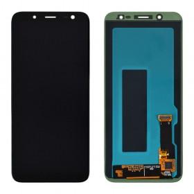 Дисплей для Samsung j600H/DS Galaxy J6 (2018) с тачскрином в сборе, без рамки,  цвет black, service original