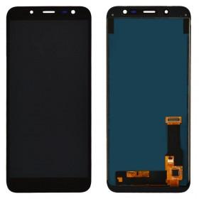 Дисплей для Samsung j600H/DS Galaxy J6 (2018) с тачскрином в сборе, без рамки, tft с регулировкой яркости,  цвет черный
