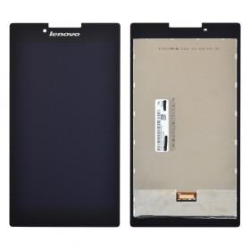 Дисплей Lenovo Tab 2 A7-30, A7-30DC, A7-30F, A7-30HC (TV070WSM-TL0) с тачскрином в сборе, без рамки,  цвет черный