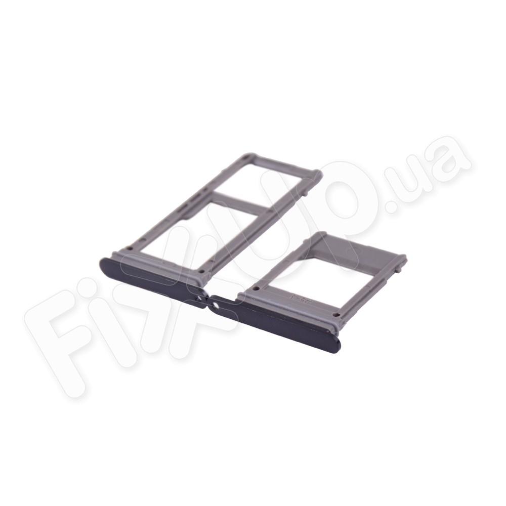 Держатель сим карты для Samsung A520F Galaxy A5 (2017) на 2 pcs, цвет черный фото 1