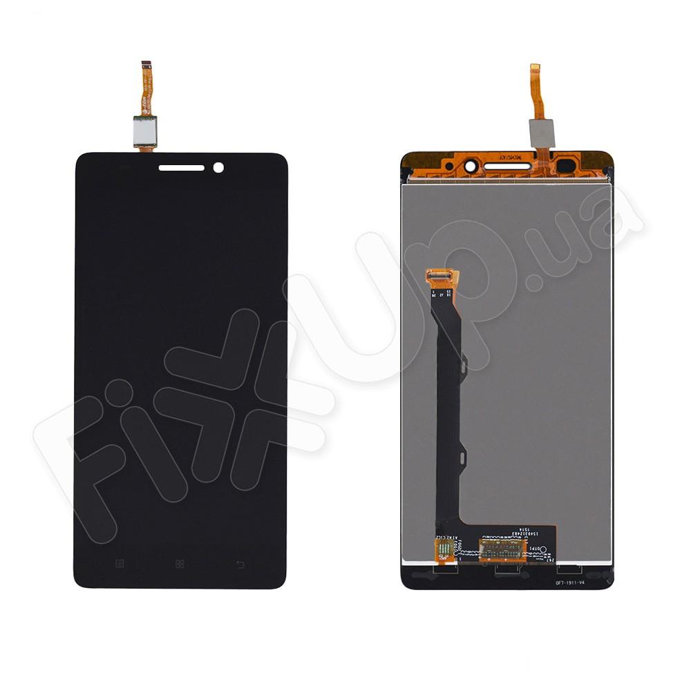 Дисплей Lenovo A7000 Plus, K3 Note с тачскрином в сборе, микросхема 6 мм, цвет черный фото 1