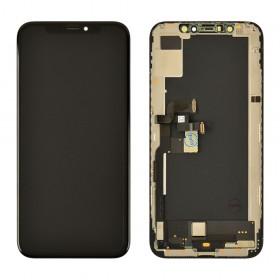 Дисплей для iPhone XS (5.8) с тачскрином в сборе, с разбора,  цвет black, original