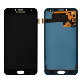 Дисплей для Samsung j400H/DS Galaxy J4 (2018) с тачскрином в сборе,  цвет черный, tft с регулировкой яркости, без рамки