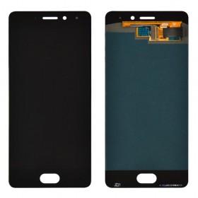 Дисплей для Meizu Pro 7 с тачскрином в сборе, оригинал замененное стекло,  цвет черный, без рамки