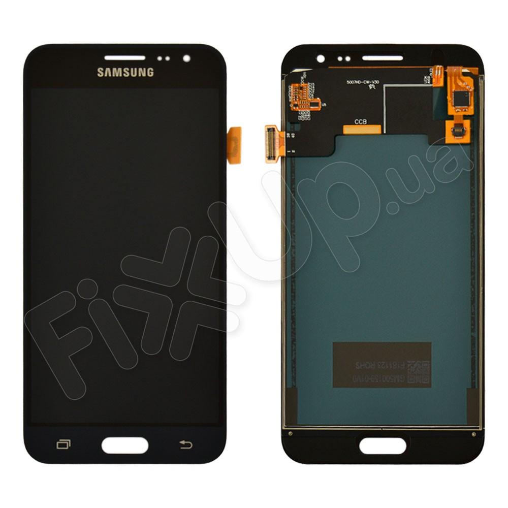 Дисплей для Samsung J320H/DS Galaxy J3 (2016), с тачскрином в сборе, цвет черный, TFT c регулировкой яркости фото 1
