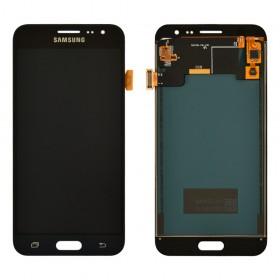 Дисплей Samsung J320H/DS Galaxy J3 с тачскрином в сборе,  цвет черный, без рамки, tft с регулировкой яркости