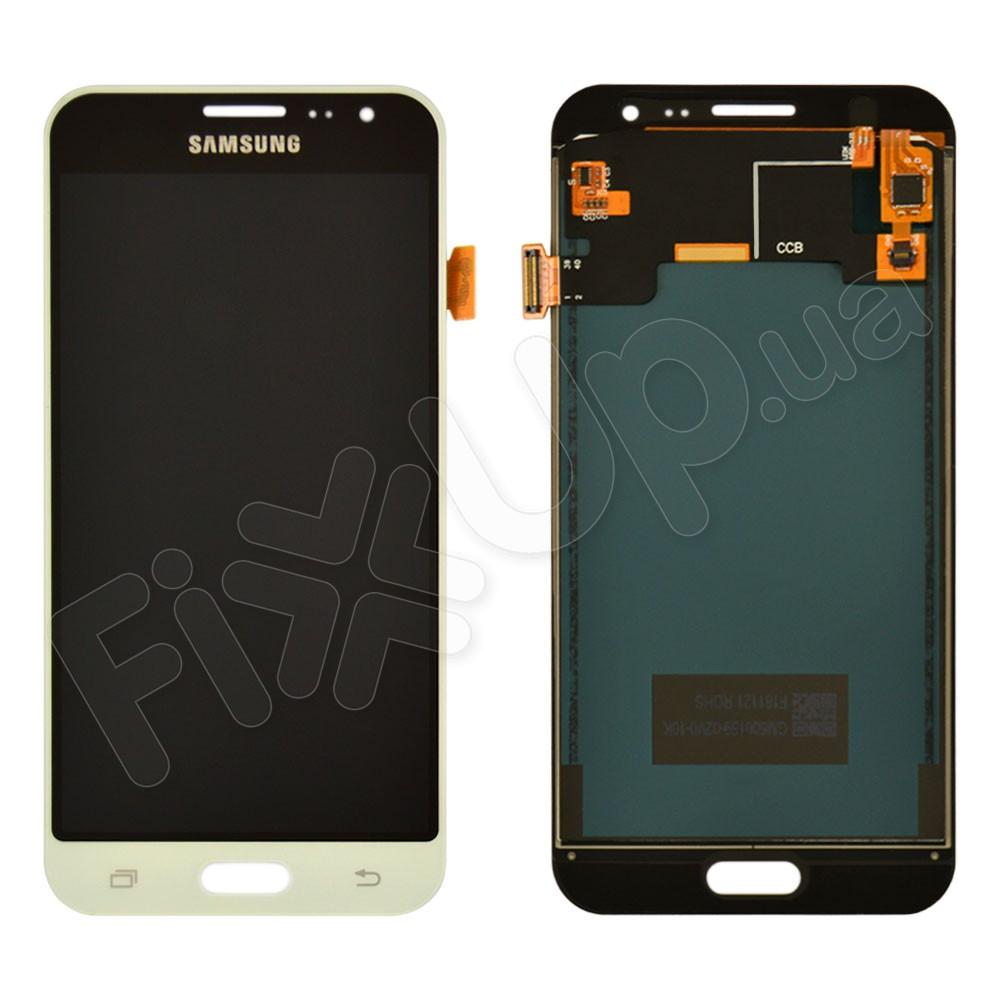 Дисплей для Samsung J320H/DS Galaxy J3 (2016) с тачскрином в сборе, цвет белый, TFT c регулировкой яркости фото 1