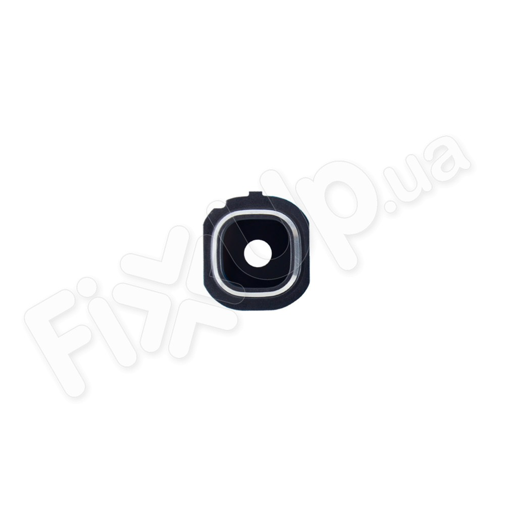 Стекло для камеры Samsung J510F, J710F, J710H, J710M/DS Galaxy J7, с рамкой, цвет серебро фото 1