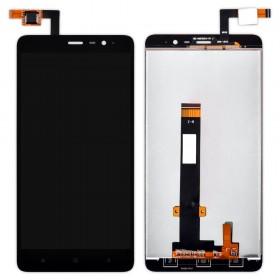 Дисплей Xiaomi Redmi Note 3, Note 3 Pro с тачскрином в сборе, 147мм, копия, без рамки,  цвет черный