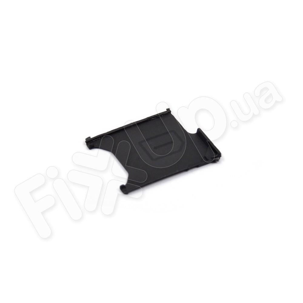 Лоток для сим карты Sony C6602, C6603, C6606 Xperia Z, цвет черный фото 1