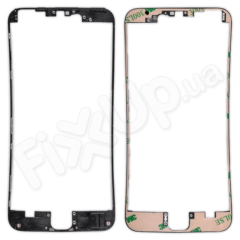 Рамка дисплея (экрана) для iPhone 6S Plus (5.5), цвет черный фото 1