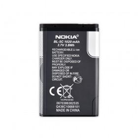 Аккумулятор для Nokia 1100, 1101, 1110,1280,1600,1616,202,203,2300,2310, 2323c, 2330c, 2600, 2610, 2626,2700c,2730c,3100,3109c, 3110c, 3120, 3208c, 3555 (BL-5C), емкость 1020 мАч, напряжение 3,7 В