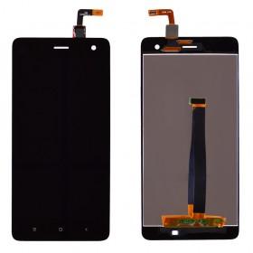 Дисплей Xiaomi Mi4 с тачскрином в сборе, без рамки,  цвет черный