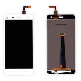 Дисплей Xiaomi Mi4 с тачскрином в сборе, без рамки,  цвет белый