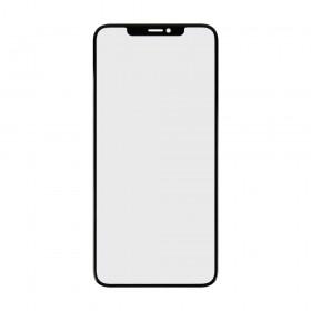 Стекло корпуса для iPhone XS Max (6.5) с OCA пленкой,  цвет black