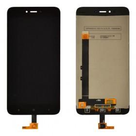 Дисплей Xiaomi Redmi NOTE 5A/Y1 Lite с тачскрином в сборе,  цвет черный, оригинал, без рамки
