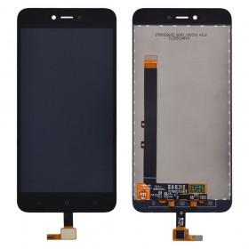 Дисплей Xiaomi Redmi NOTE 5A/Y1 Lite с тачскрином в сборе,  цвет черный, копия, без рамки