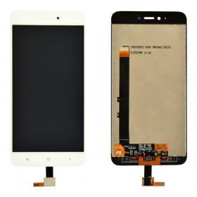 Дисплей Xiaomi Redmi NOTE 5A/Y1 Lite с тачскрином в сборе, без рамки,  цвет белый, копия
