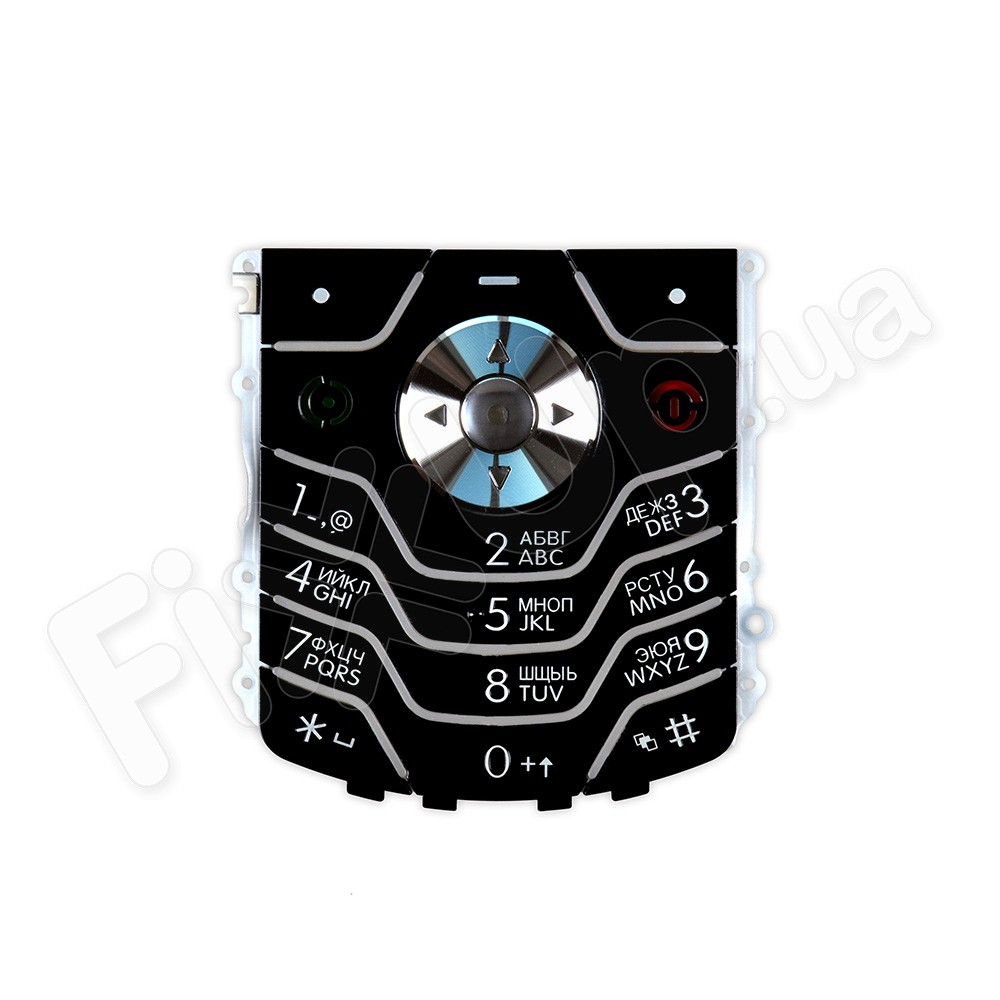 Клавиатура Motorola L6, цвет черный фото 1
