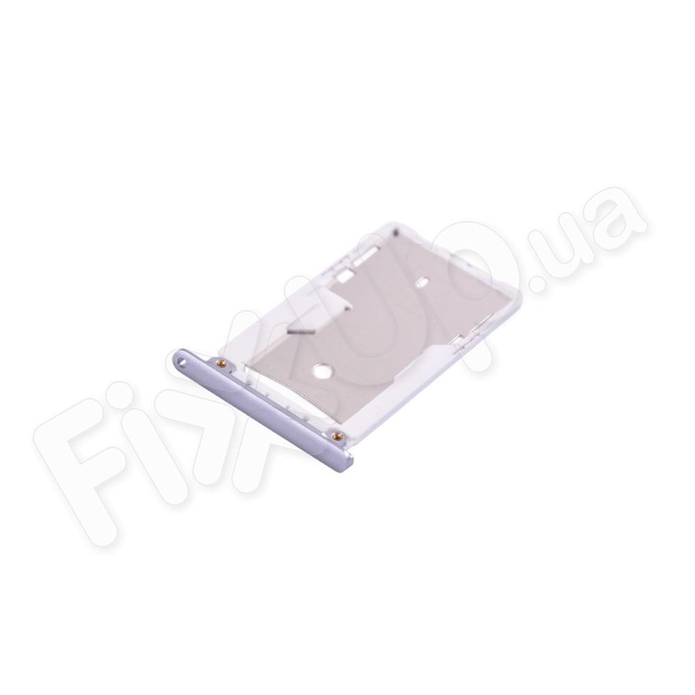 Держатель сим карты Xiaomi Redmi 3, цвет серый фото 1