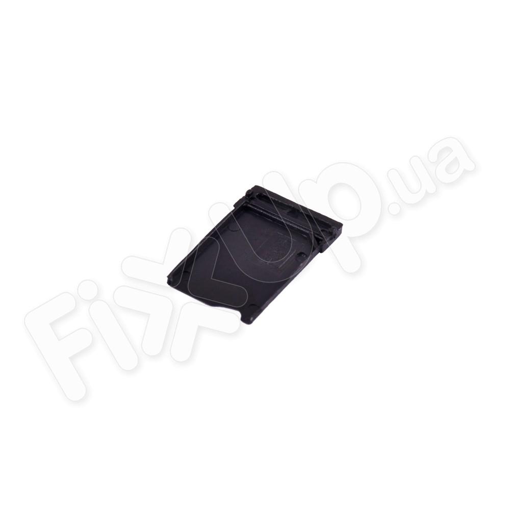 Держатель сим карты для HTC Desire 626, цвет черный фото 1