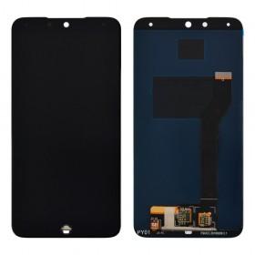 Дисплей для Meizu 15 Lite (M15) с тачскрином в сборе, копия, без рамки,  цвет черный