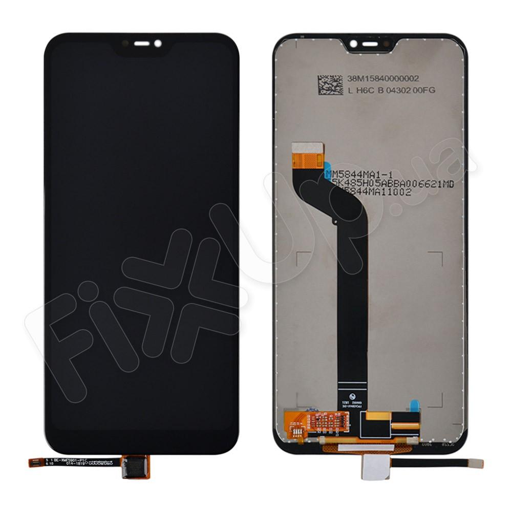 Дисплей для Xiaomi Mi A2 Lite/Redmi 6 Pro с тачскрином в сборе, цвет черный фото 1