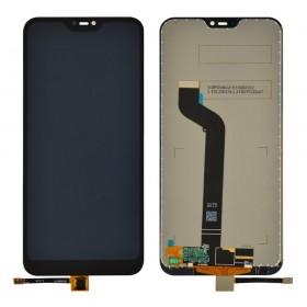 Дисплей для Xiaomi Mi A2 Lite/Redmi 6 Pro с тачскрином в сборе, копия высокого качества, без рамки,  цвет черный