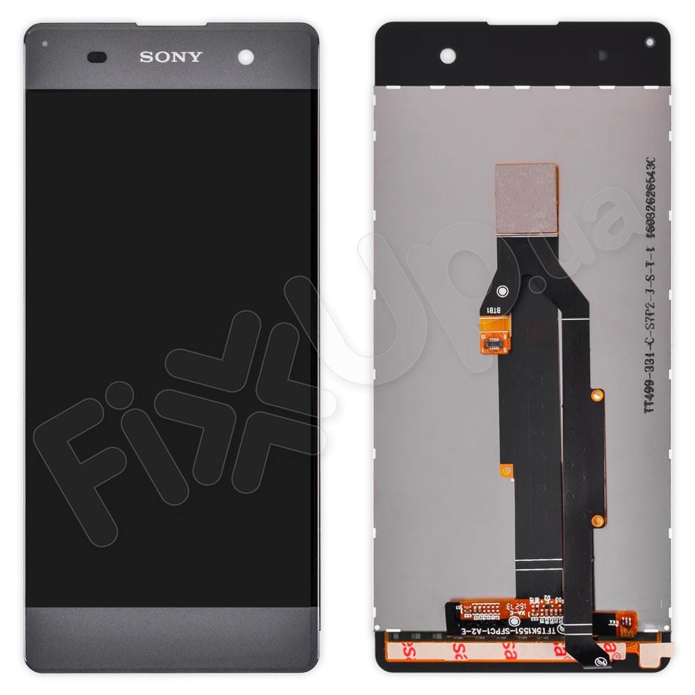 Дисплей Sony F3112, F3111, F3113, F3115, F3116 Xperia XA с тачскрином в сборе, цвет серый фото 1