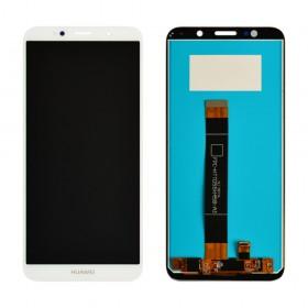 Дисплей Huawei Y5/Y5 Prime (DRA-L21/DRA-L22) (2018)/Honor 7A (DUA-L22) с тачскрином в сборе, копия, без рамки,  цвет белый